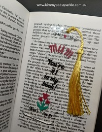 Clear Mother's Day Bookmark